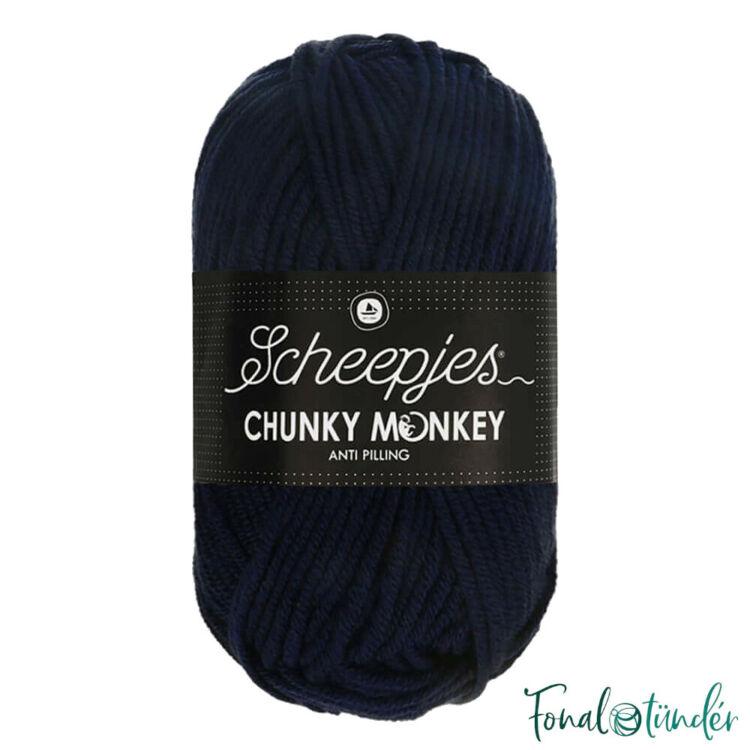 Scheepjes Chunky 1011 Slate - mélykék akril fonal - acrylic yarn