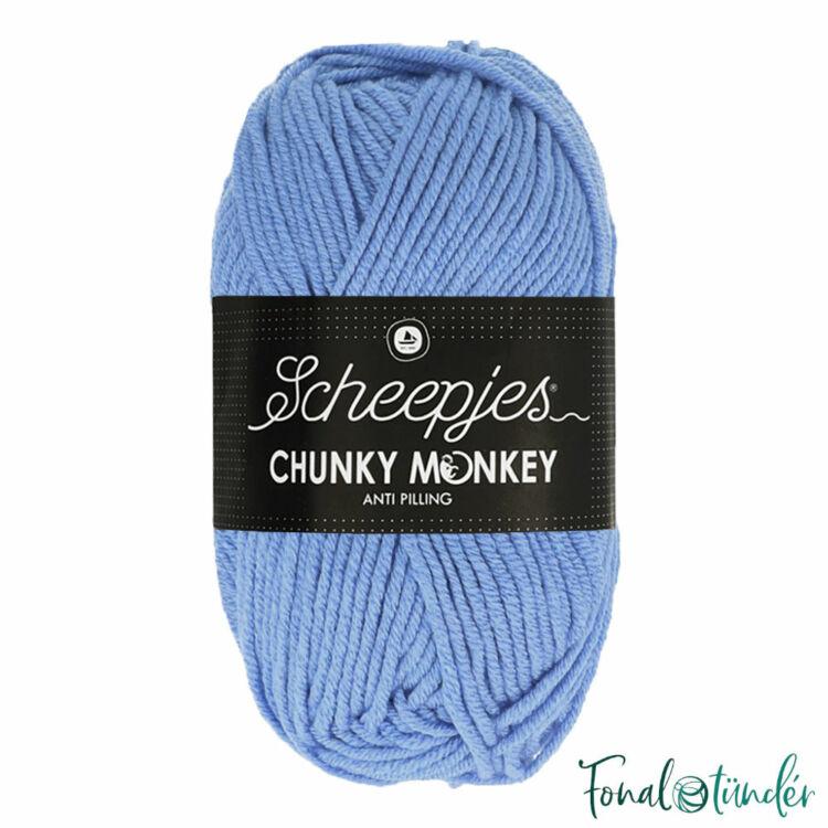 Scheepjes Chunky Monkey 1082 Mayflower - világoskék akril fonal - acrylic yarn