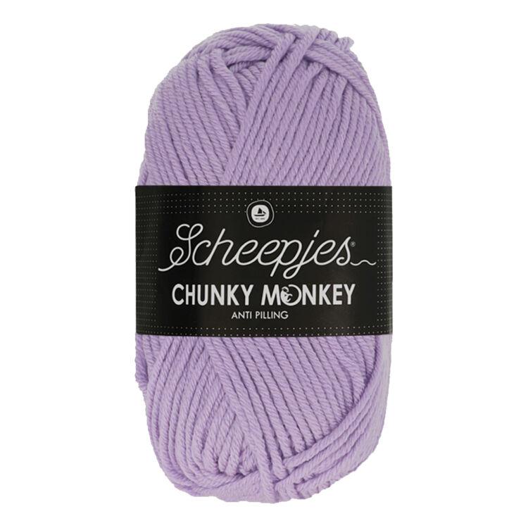 Scheepjes Chunky Monkey 1432 Amethyst - lila akril fonal - purple acrylic yarn