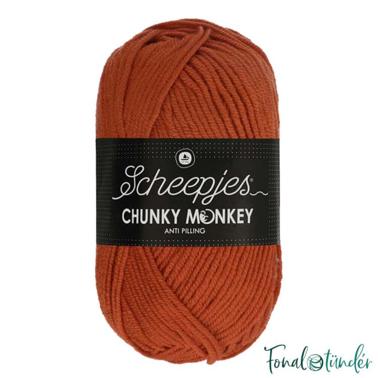 Scheepjes Chunky Monkey 1723 Flame - orange - sötét narancs akril fonal - acrylic yarn