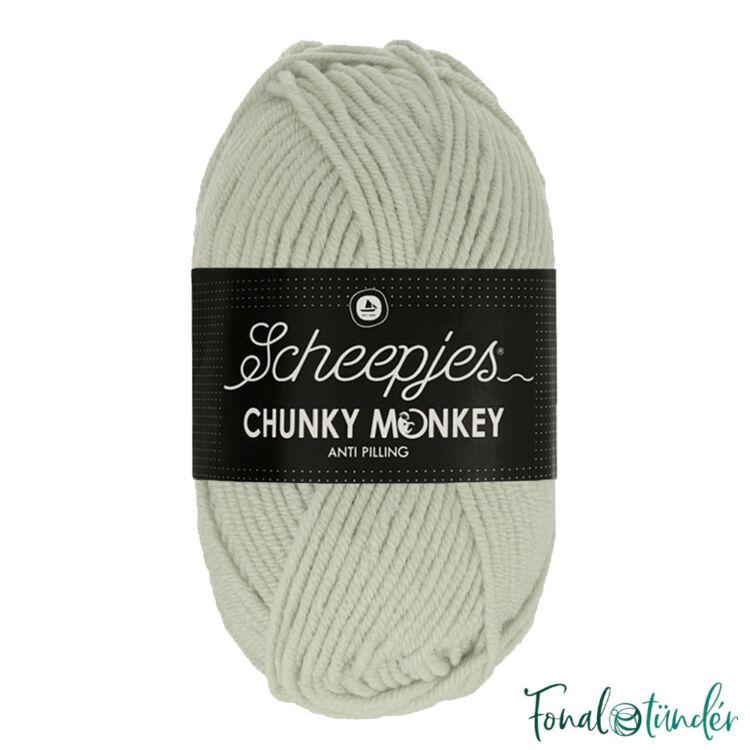 Scheepjes Chunky Monkey 2017 Stone - halvány drapp akril fonal - acrylic yarn