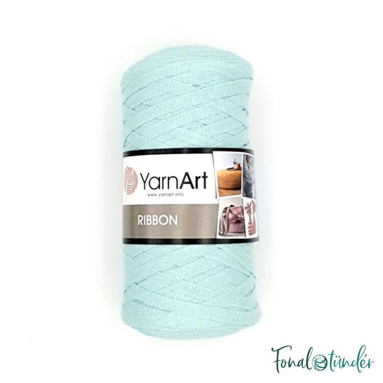 YarnArt Ribbon 775 - türkiz szalagfonal - turquoise tape yarn