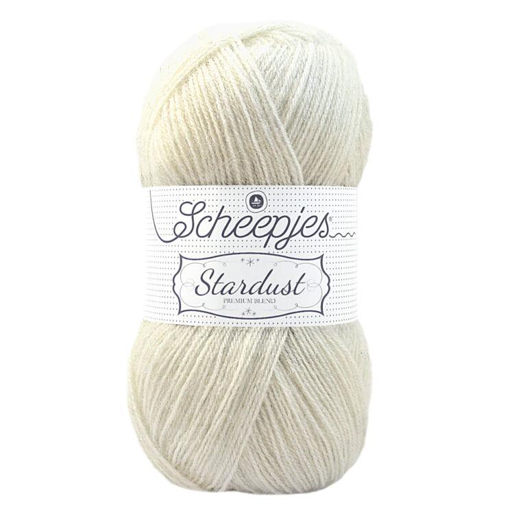 Scheepjes Stardust 653 Capricorn - törtfehér mohair fonal - light-beige mohair yarn blend
