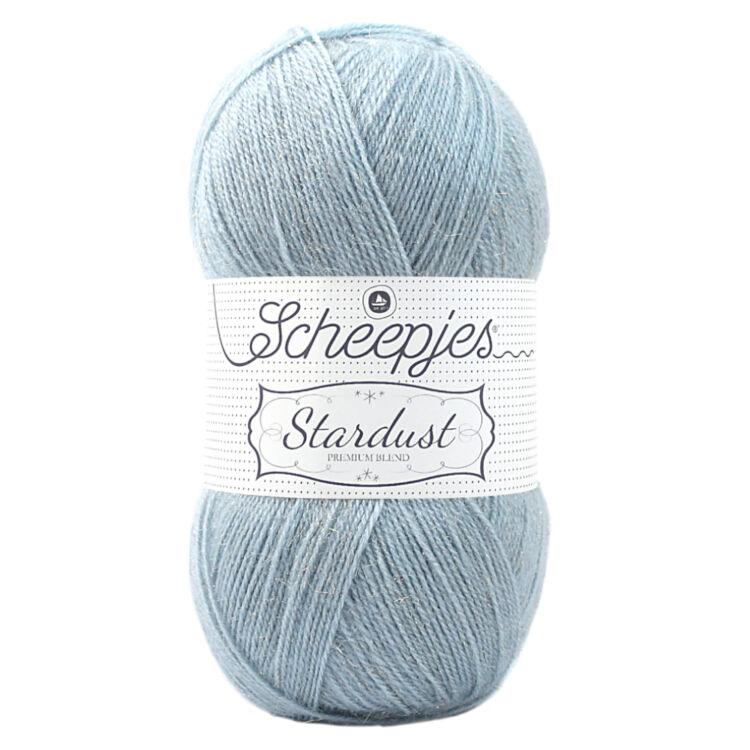 Scheepjes Stardust 654 Pisces - világoskék mohair fonal - light-blue mohair yarn blend