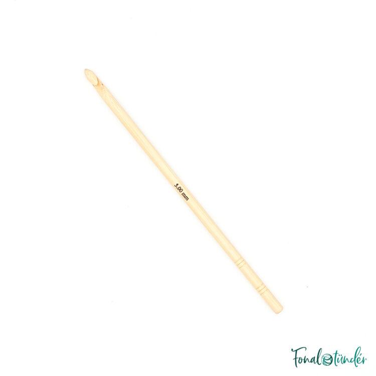 knitpro bamboo - horgolótű - crochet hook - 5mm