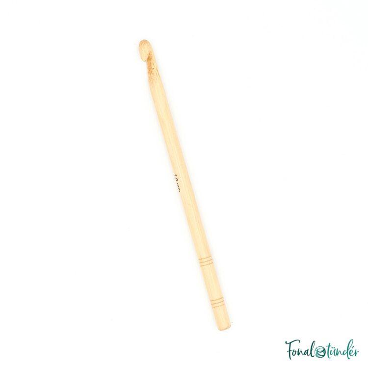 knitpro bamboo - horgolótű - crochet hook - 7mm