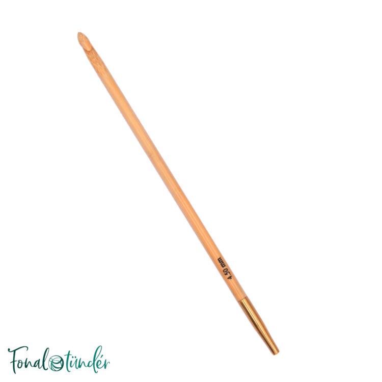 KnitPro Bamboo Tunisian - tuniszi horgolótű - crochet hook - 4mm