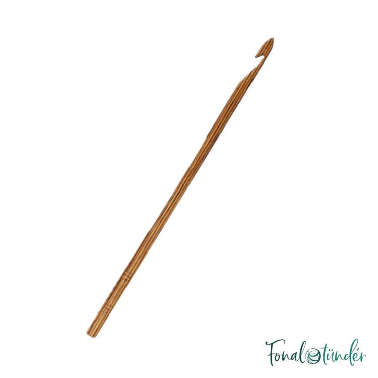 KnitPro Ginger - nemesfa horgolótű - wooden crochet hook - 5mm