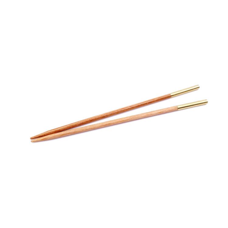 KnitPro Basix Birch - körkötőtű fej - knitting needle tip - 10cm - 3mm