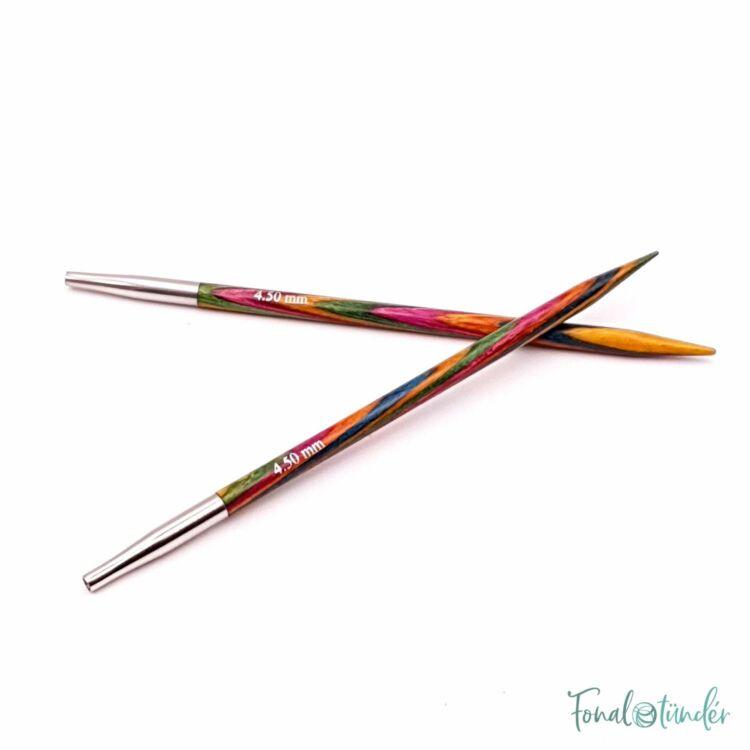 KnitPro Symfonie - körkötőtű fej - knitting needle tip - 4.5mm