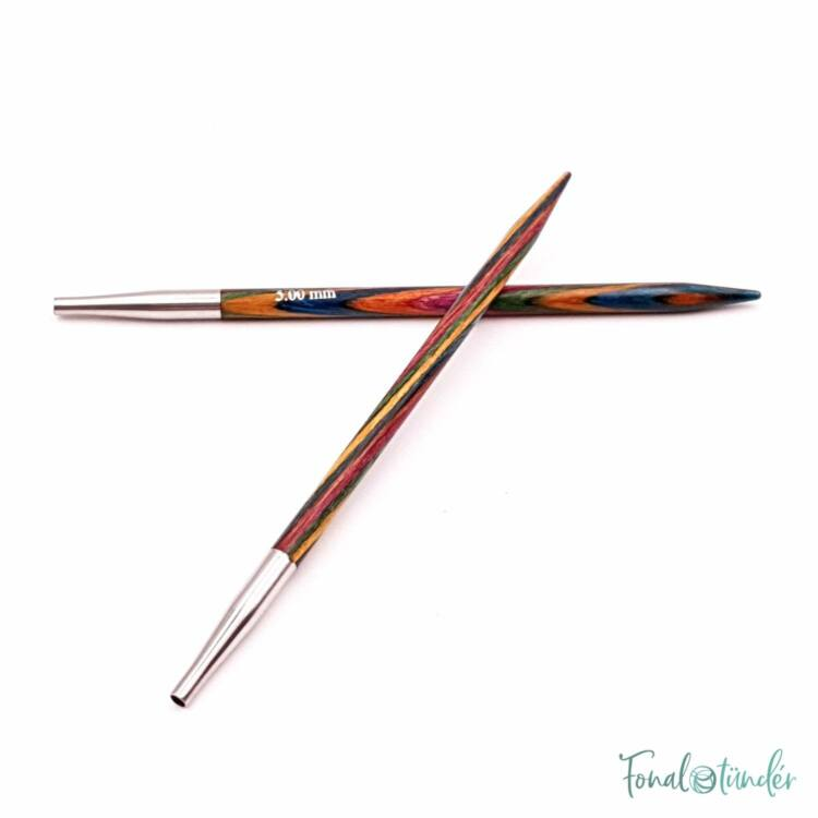 KnitPro Symfonie - körkötőtű fej - knitting needle tip - 5mm