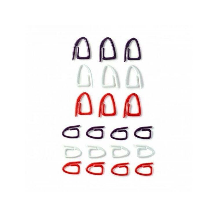 Prym szemjelölők - stitch markers - 21db