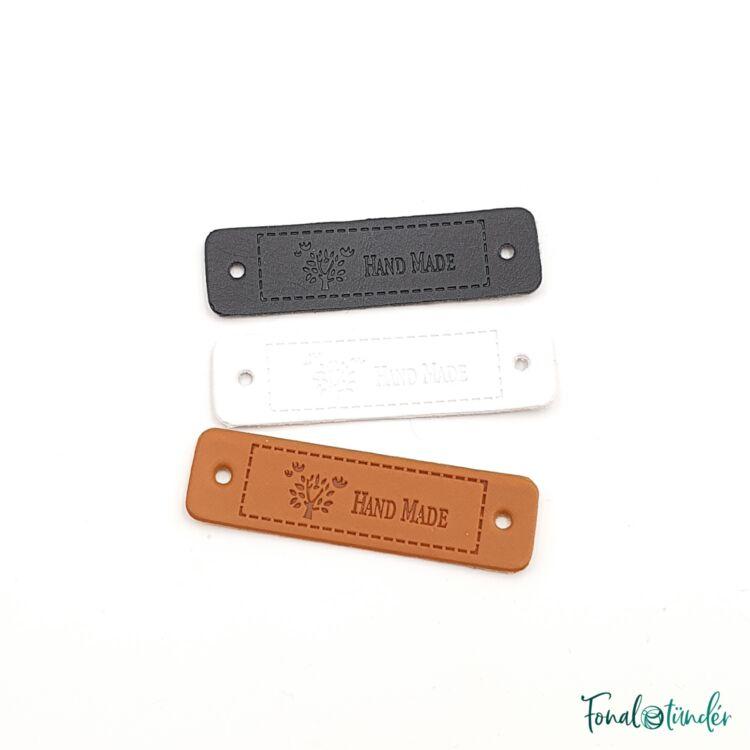 Felvarrható címke - Handmade - Label - gift tag