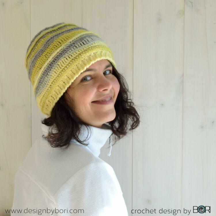 Lemonade Hat - crochet pattern - Citrom Sapka - horgolásminta