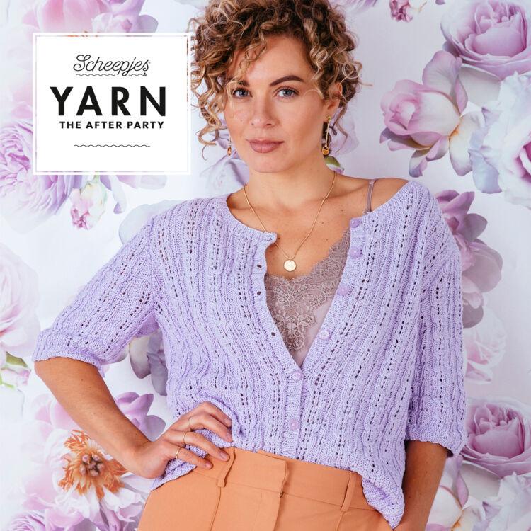 Scheepjes - Blossom Cardigan - Virágszirom Kardigán - kötésminta - knitting pattern