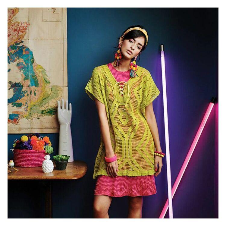 Scheepjes - Filet for you - Filé horgolás - 5 horgolásminta - 5 crochet patterns