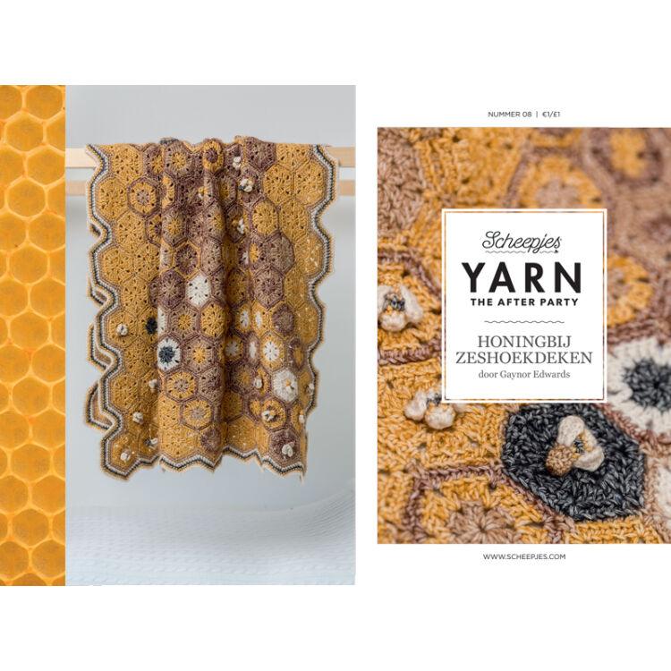 Scheepjes - Honey Bee Blanket - Méhecske Takaró - horgolásminta - crochet pattern