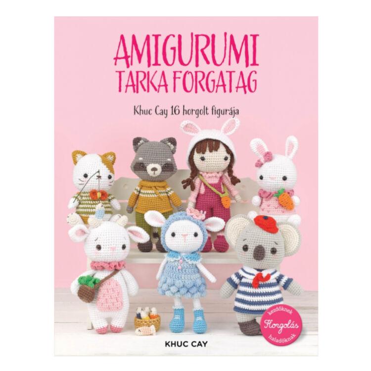 Amigurumi Tarka Forgatag - figura horgolós könyv