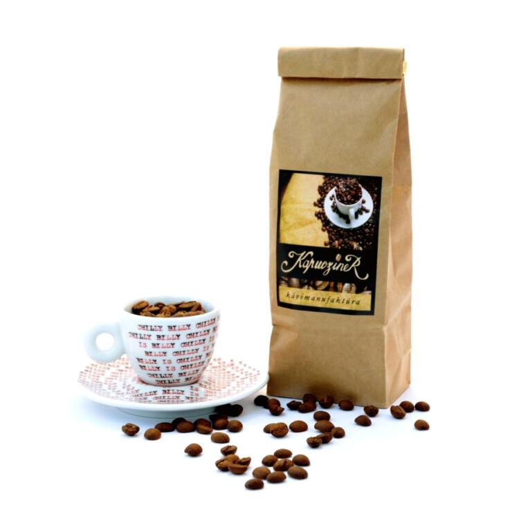 Brazil Santos - frissen pörkölt arabica kávé - fresh roasted arabica coffee